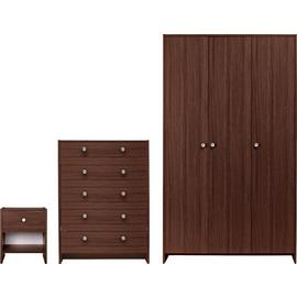 Argos Home Seville 3 Piece 3 Door Wardrobe Set