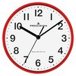 more details on Precision Radio Controlled Wall Clock - Red.