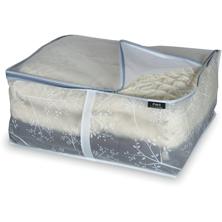 Buy White Leaf Peva 2 Piece Blanket Storage Set Medium