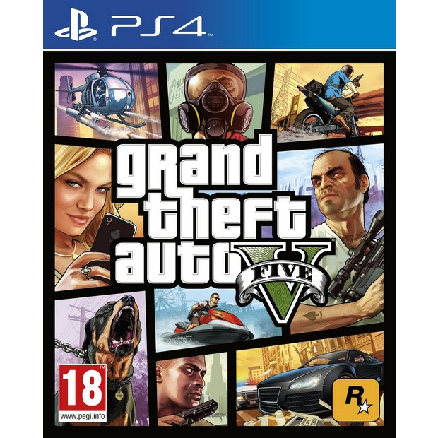 Buy Grand Theft Auto V PS4 Game | PS4 games | Argos