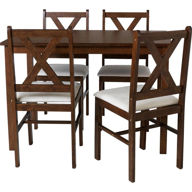 Dining Table And Chairs In Argos: Buy HOME Ava Dining Table And 4 Chairs