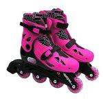more details on Elektra In Line Boot Skates - Pink.