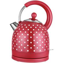 Kalorik Classic Polka Dot S/Steel Kettle - Red & White