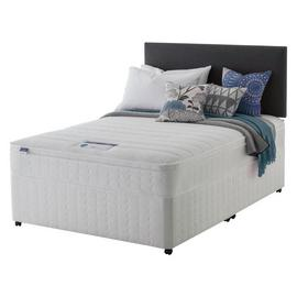 Silentnight Miracoil Travis Cushiontop Divan - Kingsize.