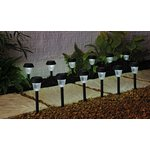 more details on HOME Solar Black Lights - Set of 12.
