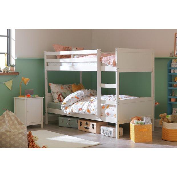 Buy Argos Home Detachable Bunk Bed Frame White Kids Beds Argos