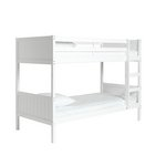 more details on HOME Detachable Single Bunk Bed Frame - White.