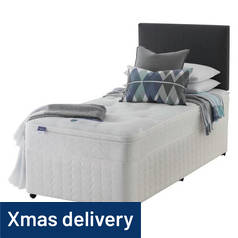 Silentnight Miracoil Travis Ortho Divan Bed - Single