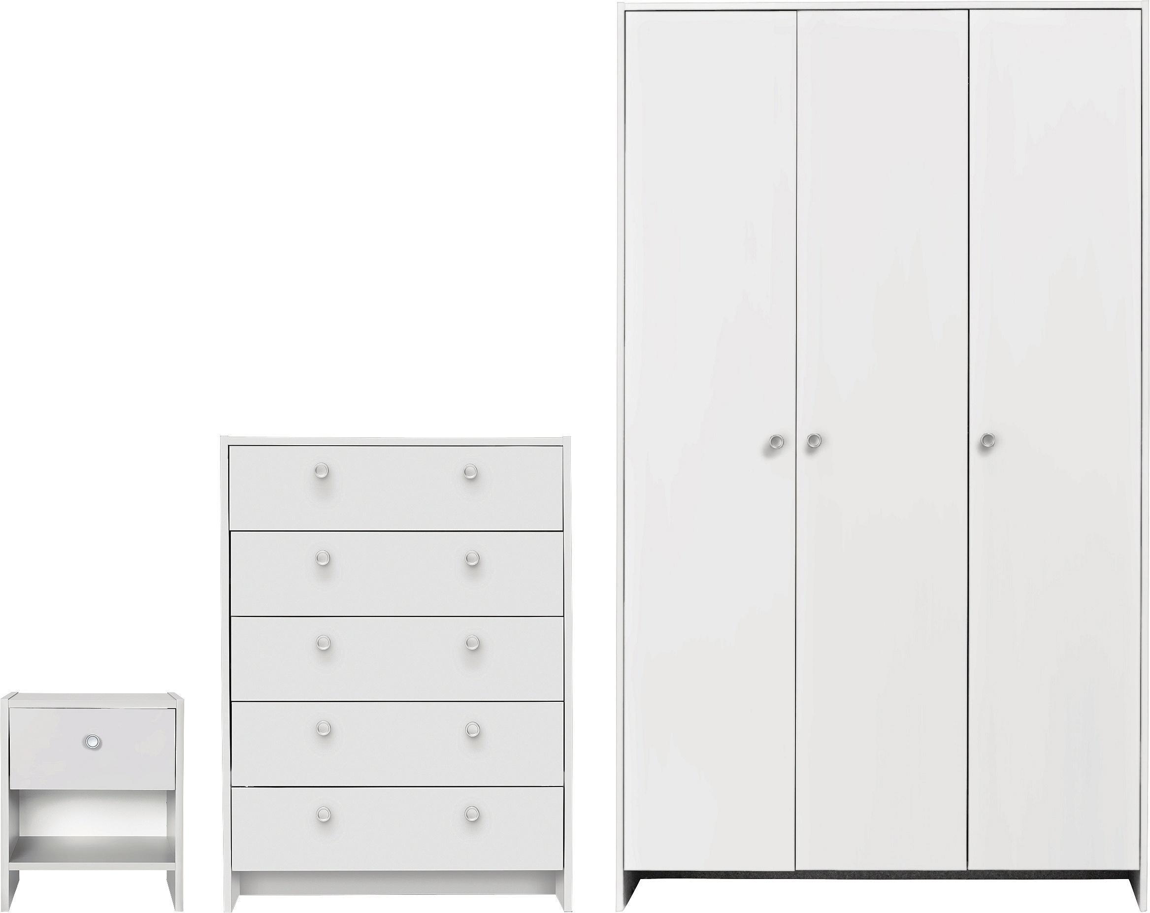 argos bedroom furniture. Beautiful Bedroom Argos Home Seville 3 Piece Door Wardrobe Package  White In Bedroom Furniture A