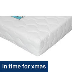 I-Sleep Collect and Go Pocket Memory Foam Double Mattress