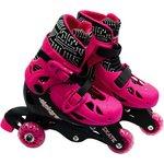 more details on Elektra Tri to In Line Boot Skates - Pink.
