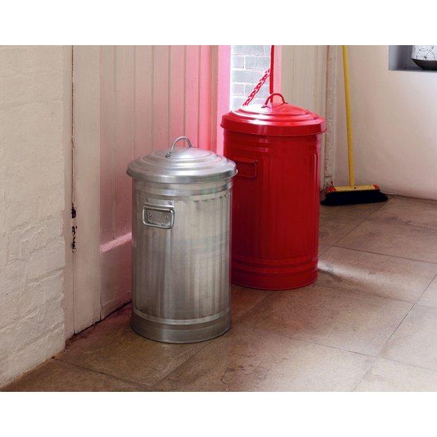 Buy habitat alto 52l red kitchen bin at your for Kitchen set argos