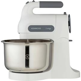 Kenwood HM680 Chefette Electric Hand and Stand Mixer - White