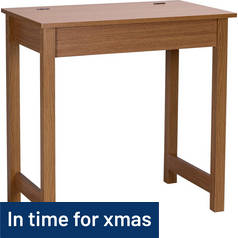 Argos Home Denbigh Office Desk - Oak Effect