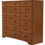 more details on HOME Nordic 6+6 Drawer Chest - Pine.