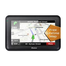Binatone U435 4.3 Inch Sat Nav Lifetime Maps Uk & ROI