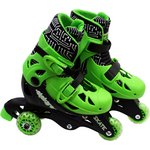 more details on Elektra Tri to In Line Boot Skates - Green.