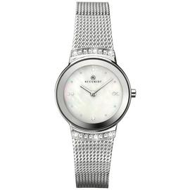 Accurist Ladies' Silver Plated Mesh Strap Watch (117376888) Best Price and Cheapest
