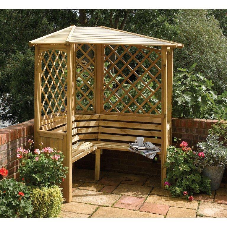 Argos Garden Bench: Buy Balmoral Arbour At Argos.co.uk