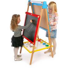 Buy Melissa And Doug Deluxe Standing Art Easel Painting Drawing