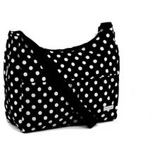 Baby Elegance Everyday Tote Bag Polka Dot - Black.