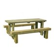 more details on Forest Sleeper Benches and Table Set 1.8m.