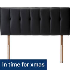 Rushden Superking Headboard - Black
