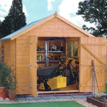 Rowlinson Premier Wooden Shed - 10 x 8ft