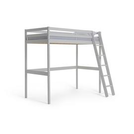 Argos Home Kaycie White High Sleeper Bed Single Bed Frame