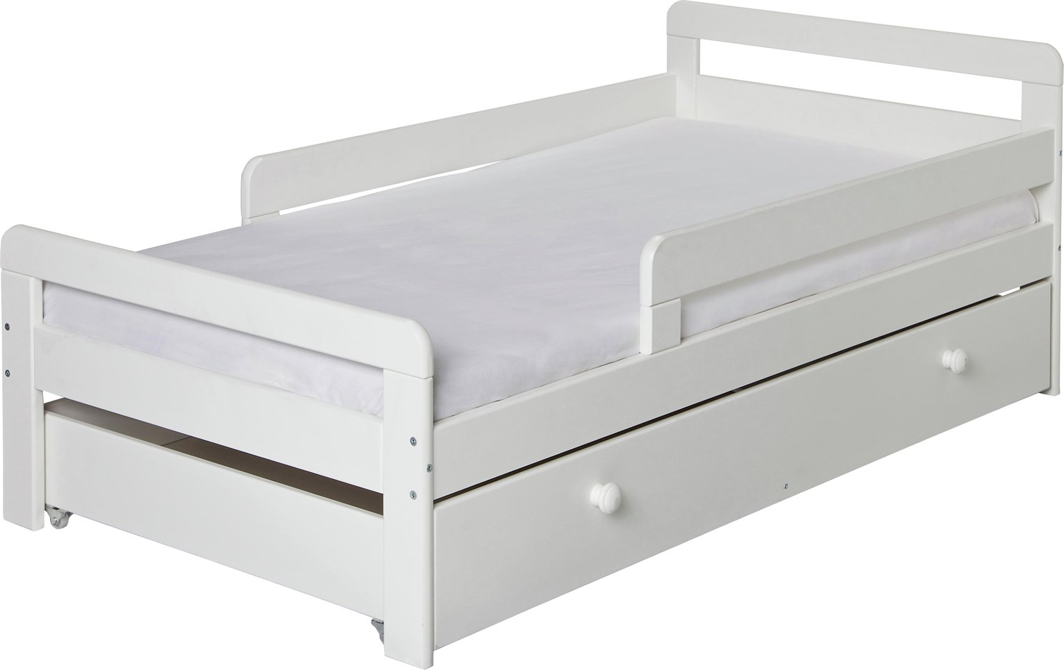 Kids Beds With Storage For Girls With Argos Home Ellis Storage Toddler Bed Frame White Kids Beds Childrens Bunk Cabin Mid Sleeper