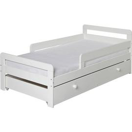 Argos Home Ellis White Toddler Bed Frame with Storage