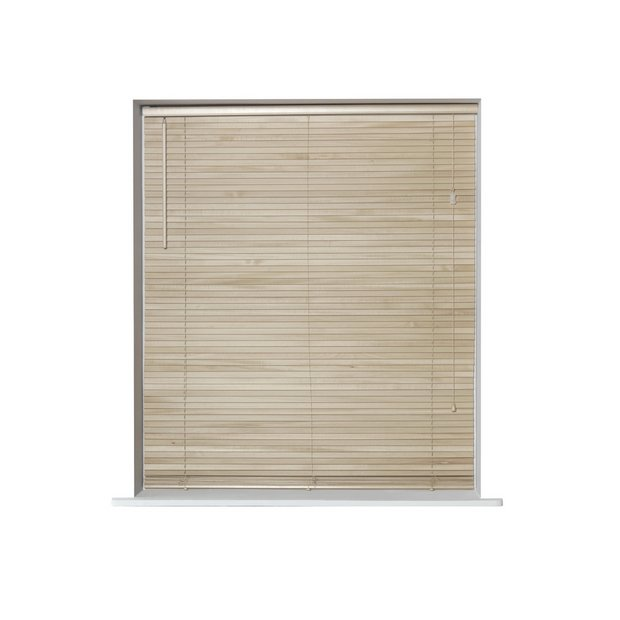 Buy Home Wooden Venetian Blind 4ft Natural Blinds