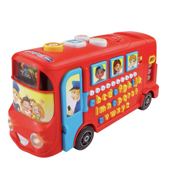 Buy VTech Playtime Bus with Phonics | Early learning toys | Argos