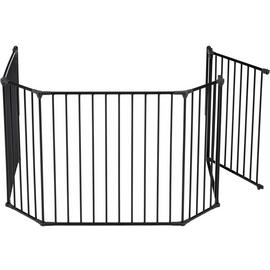 BabyDan XL Hearth Gate / Configure Gate - Black.