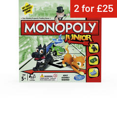 Monopoly Junior Board Game from Hasbro Gaming