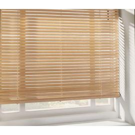 Argos Home Wood Venetian Blind - Natural