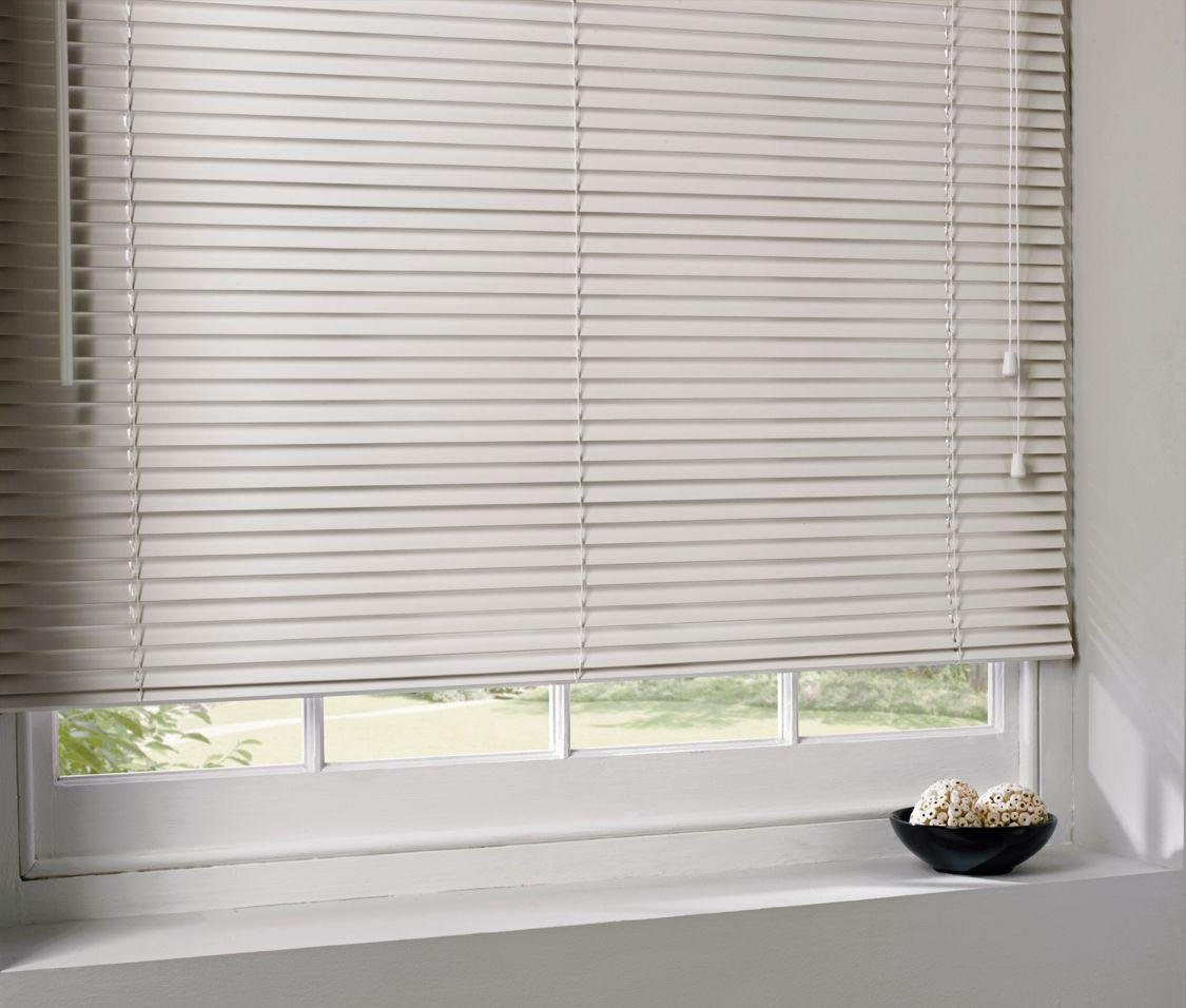 home wooden venetian blind 4ft cream