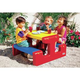 Little Tikes Junior Picnic Table Primary