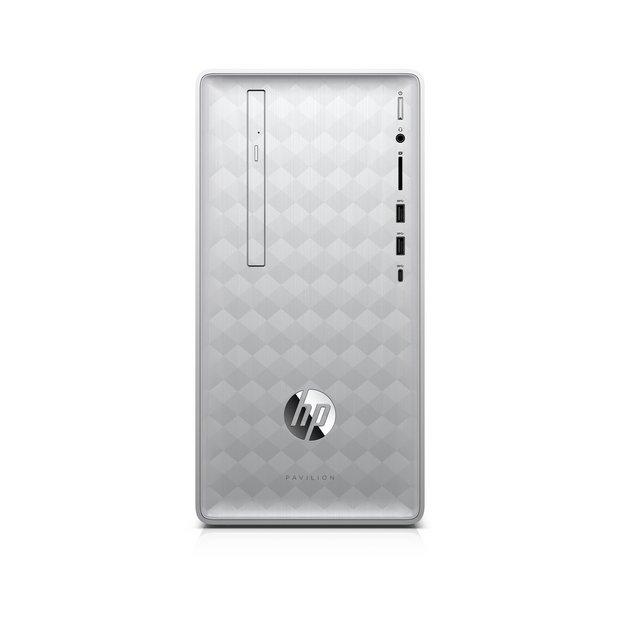 Buy HP Pavilion Ryzen 5 8GB 1TB 128GB Desktop PC | Desktop computers and  all in ones | Argos