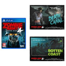 Zombie Army 4 PS4 Game & Poster Bundle