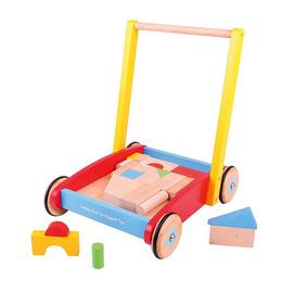 Bigjigs Wooden Baby Walker