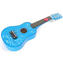 Tildo Wooden Guitar - Blue