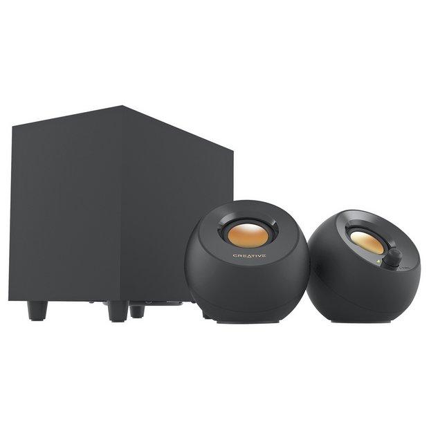 Creative MF0480 2.1 PC Speaker Set - Pebble Black