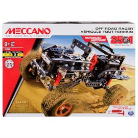 Meccano 25-in-1 Off-Road Racer Motorized Building Set