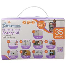 Dreambabys No Tools No Screws Safety Kit - 35 Piece