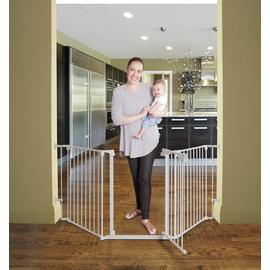 Dreambaby Denver 3-Panel Metal Adapta Barrier/Gate -Hardware