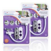 Dreambaby Breezz Safe Window Restrictor - 2 Pack