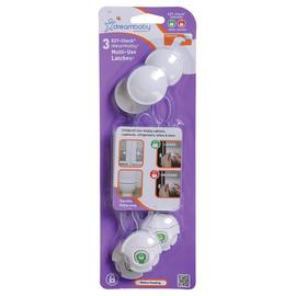 Dreambaby EZY-Check Multi Use Latch - 3 Pack