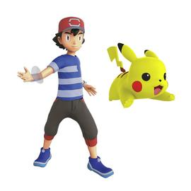 "Pokemon 4 5"" Action Figure Pikachu and Ash"