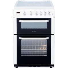 Servis DG60W Double Gas Cooker - White
